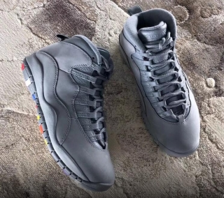 Authentic Air Jordan 10s Cool Grey 2018
