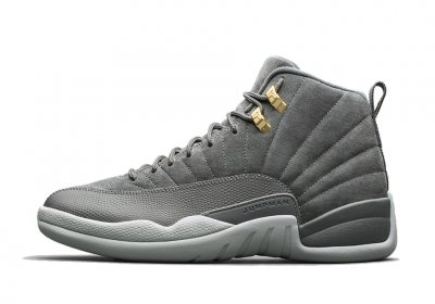 Authentic Air Jordan 12s Dark Grey
