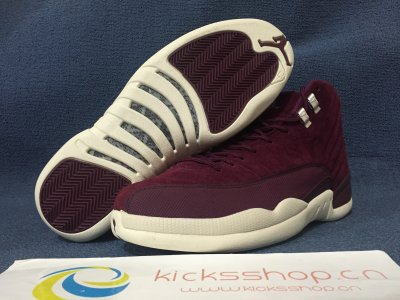 Authentic Air Jordan 12s Bordeaux