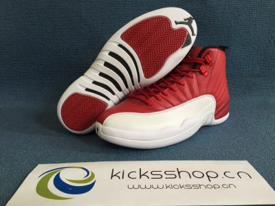 Authentic Air Jordan 12 Retro Gym Red