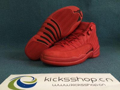 "Authentic Air Jordan 12 ""Gym Red"""