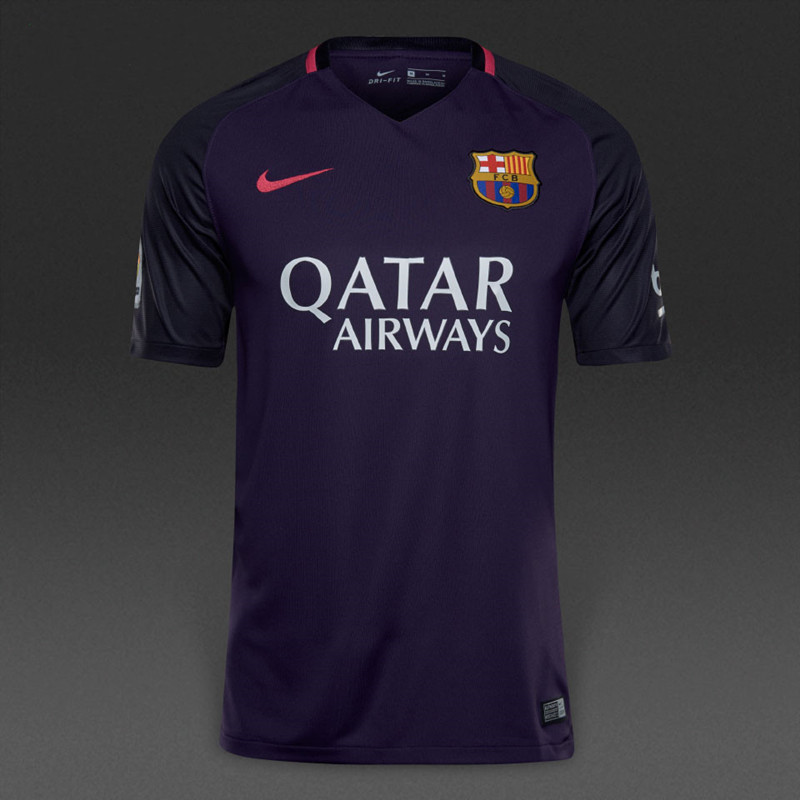 eb2619ef836 Barcelona Away Purple Soccer Jerseys 2016 2017 Season Item NO  372363