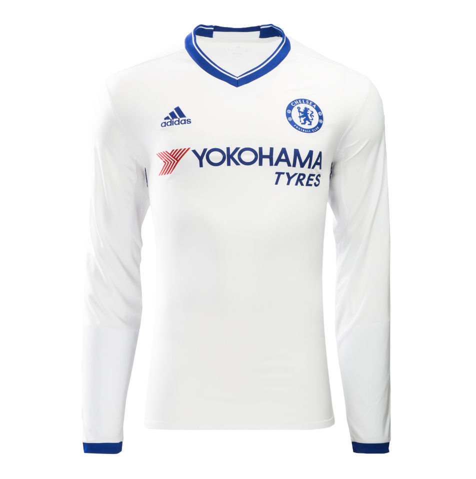 hot sale online 1b098 21171 chelsea away long sleeve