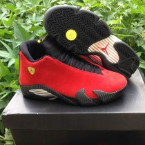 Authentic Air Jordan 14 Retro Ferrari