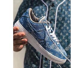0b0336b2d98b Free shipping US  130 - Supreme x Louis Vuitton x Nike AF1 - www ...