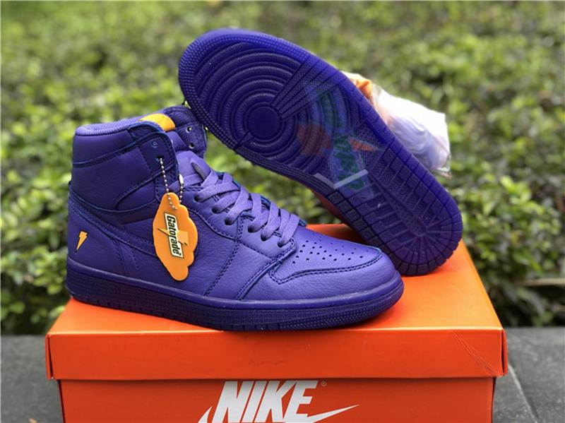 brand new da4f7 fe95c Authentic Jordan 1s Gatorade