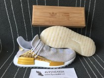 Pharrell x Adidas HU NMD -HAPPY 快乐 with  wood box