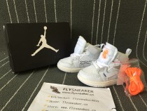 Authentic Air Jordan 1 Retro Off White Baby Shoes
