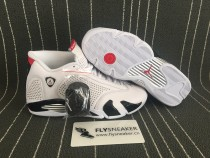 Authentic  Supreme x Air Jordan 14 white