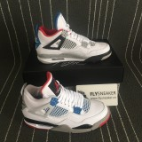 "Authentic  Air Jordan 4 ""What the 4"""
