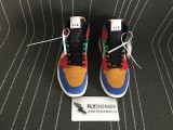 "Authentic Air Jordan 1 Mid ""Fearless"" x Blue The Great"