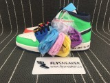 "Authentic Melody Ehsani x Air Jordan 1 Mid WMNS ""Fearless"""
