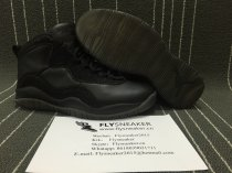 Authentic Air Jordan 10 Retro OVO Black