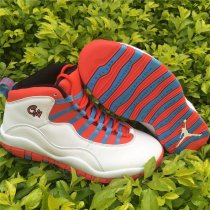 Authentic Air Jordan 10 Retro Chicago Flag