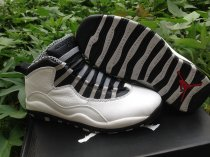 Authentic Air Jordan 10 Retro Steel