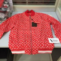 Supreme x LV Red Jacket