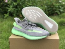 Authentic Yeezy 350 V2  Grey/Green
