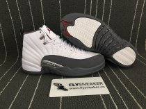"Authentic Air Jordan 12 ""Dark Grey"