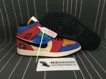 "Air Jordan 1 Mid ""Fearless"" x Blue The Great"