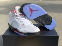 "Authentic Jordan 5s ""Fire Red"""
