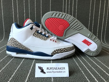 87341bcc203 ... best price authentic air jordan 3 retro og true blue88 7faa8 48722