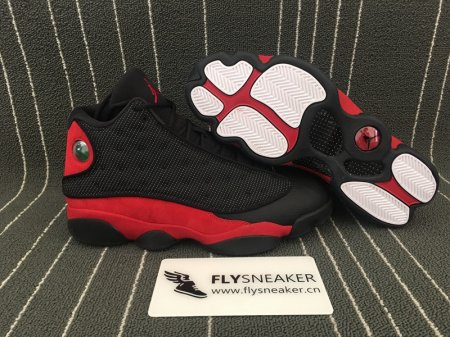Authentic Air Jordan 13 Retro Bred 2017