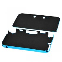 Aluminum Box Protective Hard Mental Cover Case for 3DSXL/3DSLL - Light Blue