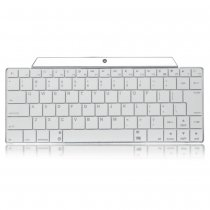 Universal Stainless Steel Wiredrawing Rechargeable Wireless Bluetooth V3.0 83-Key Keyboard  Smartphone Tablet PC / Notebook