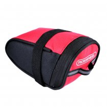 13567-A Waterproof Mountain Road Bicycle Saddle Bag Bike Tail Bag Pouch Cycling Seat Bag - Black
