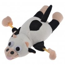 Animal Flying Slingshot Cow with Mooing Sound Novelty Toys