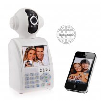 3.5'' eRobot Network Phone Camera Video Call IP Camera Wireless and Alarm