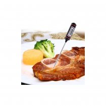 Kitchen Food Probe Digital Cooking Thermometer - Black
