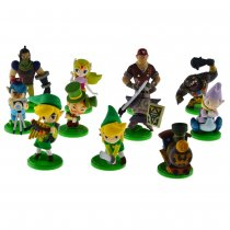 Anime The Legend of Zelda Action Figure Full Set 11Pcs