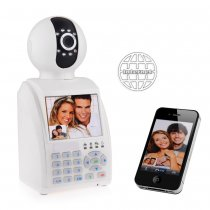 3.5'' eRobot Video Call Network Phone Camera Wifi P2P IP Camera and Alarm
