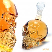 500ML Crystal Head Vodka Bottle