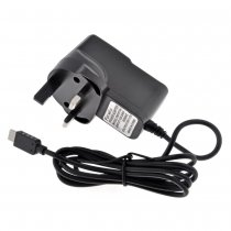 UK Type Home Wall Charger AC Adapter Power Supply for Nintendo Wii U Gamepad