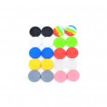 Anti-slip Silicone Analog Thumb Stick/Joystick Caps for Xbox 360 /PS3 /PS2-Multicolored (20 PCS)