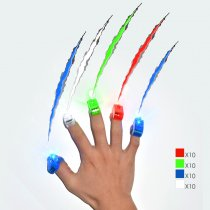 40-Pack LED Finger Lights for Christmas and Other Festival in Party