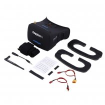 AOMWAY 5.8G 40Ch 800 x 480 FPV GOGGLES / Video Glasses with Antenna