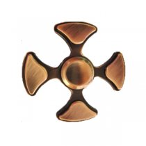 ECUBEE Hand Spinner Zinc Alloy Copper Fidget Spinner Finger Focus Reduce Stress Gadget