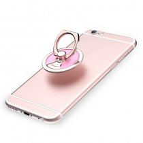 USAMS US-ZJ006 360° Rotation Metal Ring Finger Holder Stand For Smartphone