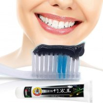 160g Black Bamboo Charcoal Tooth Whitening Cleaning Toothpaste