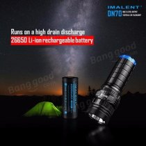 IMALENT DN70 XHP70 3800LM 26650 Tactical Rechargeable LED Flashlight