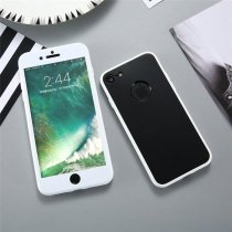 Bakeey Ultra Thin 360º Full Body Hybrid Color Soft Silicone Shockproof Case For iPhone 6/6s 4.7 Inch
