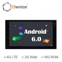 Ownice C500 OL-7001F Universial Wifi BT 7 Inch HD 4G Car MP5 Player Android 6.0 Quad Core GPS TV