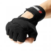 Anti-Skid Wrist Half finger Sport Lifting Gloves Gym Training Fitness Riding