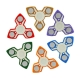 ECUBEE Hand Spinner ABS Fidget Spinner Triangle Finger Focus Reduce Stress Gadget