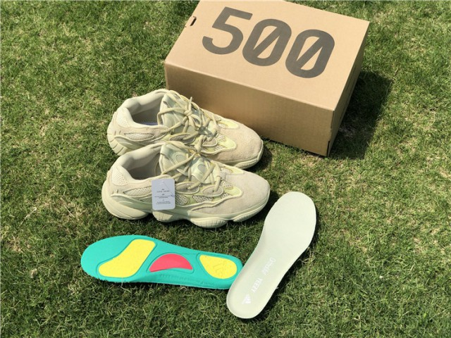 """8c221d3a37b US  155 - Authentic Adidas Yeezy 500 Boost""""Super Moon Yellow"""" - www ..."""