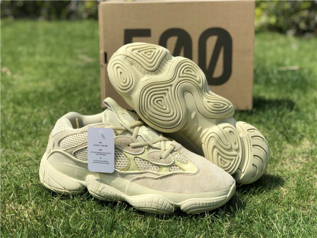 "save off 7e23a 677de Authentic Adidas Yeezy 500 Boost""Super Moon Yellow"""
