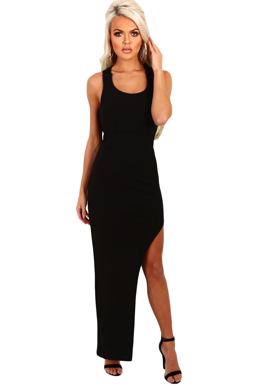 jurk met split basic